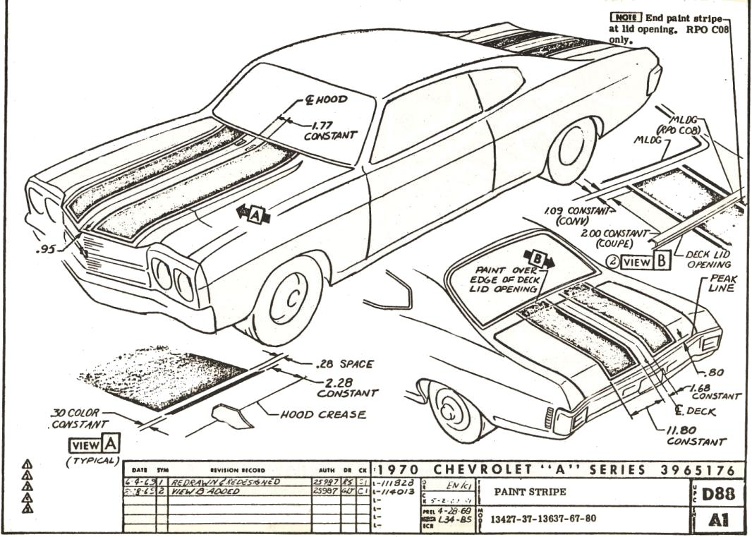 70 chevelle engine wiring harness diagram