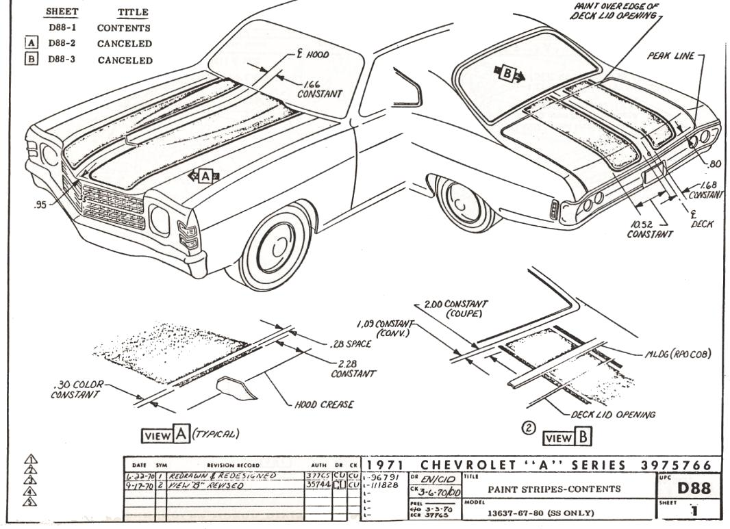 67 El Camino Fuse Box Wiring Library 69 Camaro Ss Diagram Northstar Chevelle Club Tech Stuff Pg 1 Rh Northstarchevelles Com 73 Engine Archive Of Automotive
