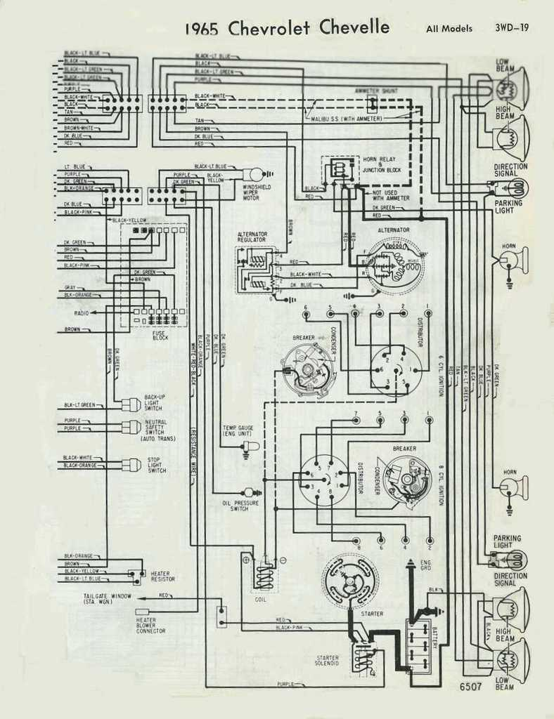 Wiring02b northstar chevelle club tech stuff pg 1 1971 el camino wiring diagram at mifinder.co